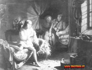 Luigi XVll prigioniero del calzolaio Simon.