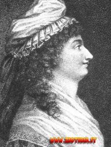 Madame Elisabeth, sorella di Luigi XVI: il piccolo Luigi Carlo sarà indotto ad accusare lei e la propria madre di incredibili nefandezze.