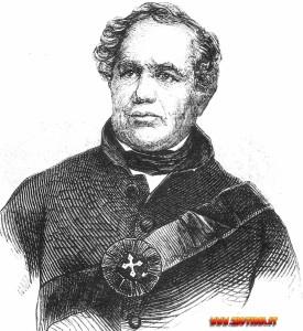 L'americano Eleazar Williams: anche lui figura nella lunga lista di coloro che hanno tentato di spacciarsi per Luigi XVII.