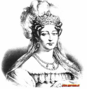 Madame Royale, divenuta duchessa d'Angouléme.