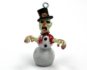 Zombie-Snowman-Christmas-Ornament